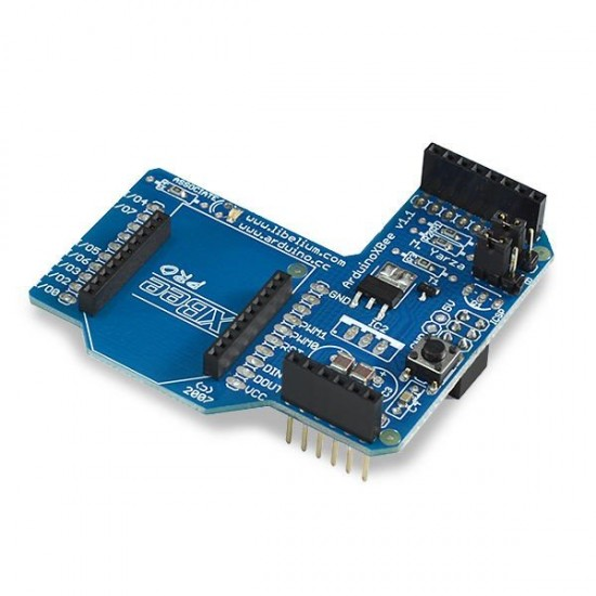 Communication Shield without XBee module (XBee, Bluetooth, RFID)