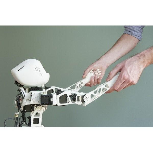 bausatz f r den roboter poppy torso ohne teilen aus 3d druck. Black Bedroom Furniture Sets. Home Design Ideas