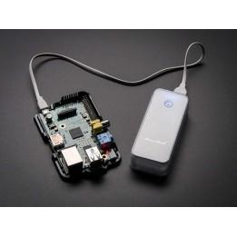USB Battery Pack for Raspberry Pi – 4400 mAh – 5 V @ 1 A