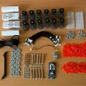 Bausatz für den vierbeinigen Metabot Roboter (ohne Teilen aus 3D-Druck)