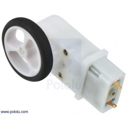 Pair of 32 x 7  mm Wheels for DIY Mobile Robots