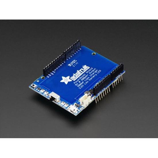 Shield Adafruit PowerBoost 500 - shield rechargeable 5V