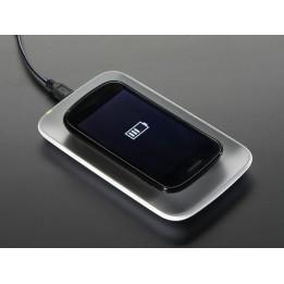 Drahtloses Universal-Ladegerät Qi MicroUSB 85 mm