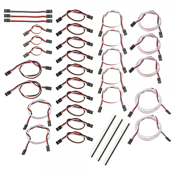 Assorted 3-Wire Extension Cable Pack