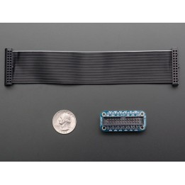 Pi Cobbler Breakout fertig montiert + Kabel für Raspberry Pi