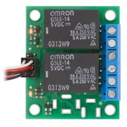 2 Inverter-Relais 12 VCC für SPDT-Schalter (montiert)