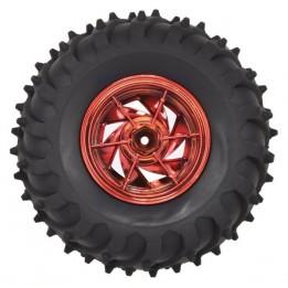 pack de 4 roues tous terrain Dagu (Rouge)
