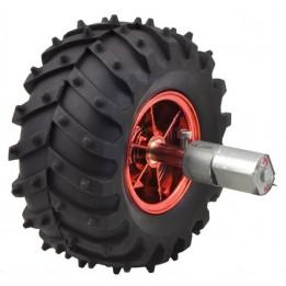4 wheels for Dagu Wild Thumper outdoor robot (red)