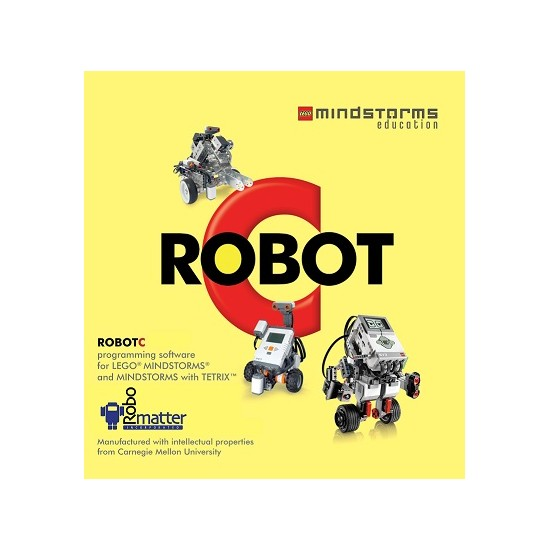 RobotC 4.0 for Lego Mindstorms NXT and EV3 - 6 Seat Team license