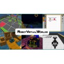 Robot Virtual Worlds 4.0 for Lego Minstorms - 6 user perpetual license