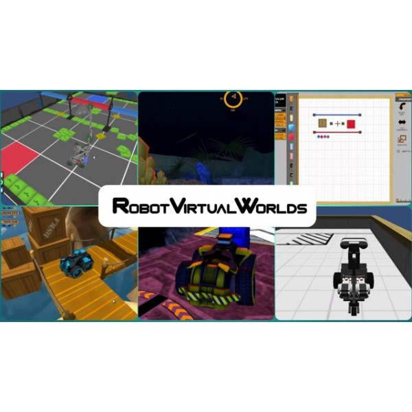 Robot Virtuel Worlds 4.0 für Lego Mindstorms - Lizenz für 30 Anwender