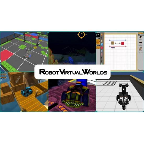 Robot Virtual Worlds 4.0 for Lego Minstorms - 30 user perpetual license