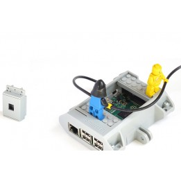 SmartiPi - Raspberry Pi case with LEGO and GoPro mount compatibility