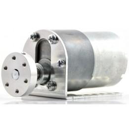 Universal Aluminum Mounting Hub for 6mm Shaft, #4-40 Holes (2-Pack)