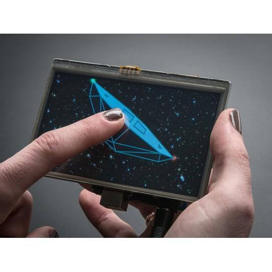 "Gameduino 2 Shield with 4.3"" 480 x 272 Touchscreen"