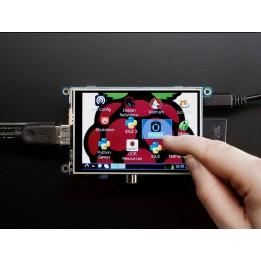 "PiTFT - Ecran TFT tactile 480 x 320 3.5"" pour Raspberry Pi"