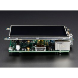 "PiTFT – 480 x 320 3.5"" TFT Display Module + Touchscreen for Raspberry Pi"