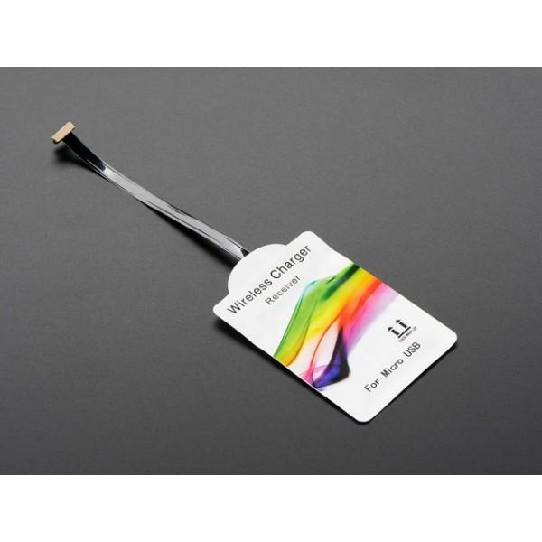Universal 85 mm Reverse Micro USB Qi Wireless Charging Module