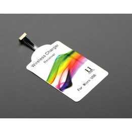 Universal 20 mm Reverse Micro USB Qi Wireless Charging Module