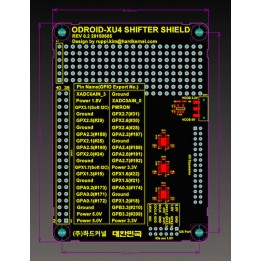 Shield Shifter pour Odroid-XU4