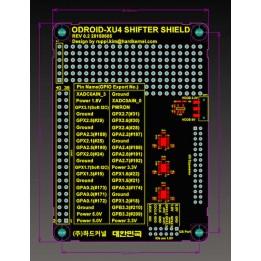 Shifter Shield für Odroid XU4