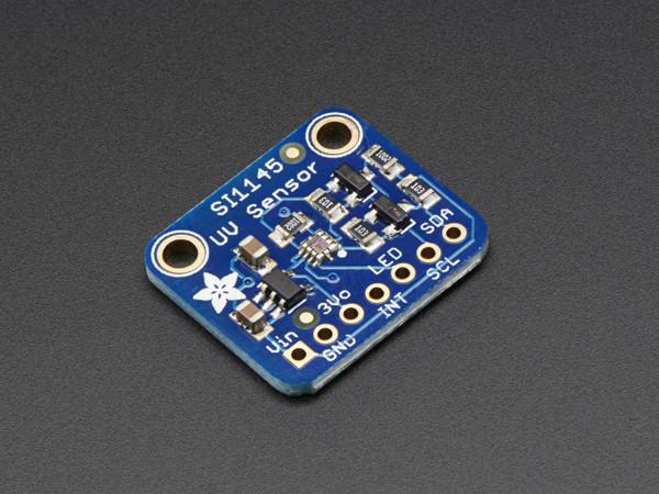 Sensor für sichtbares uv und ir licht si