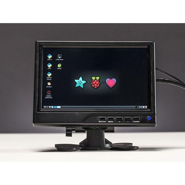 "HDMI 4 Pi - 7"" Display 1280x800 (720p) IPS - HDMI/VGA/PAL/NTSC"
