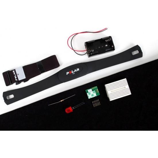 Kit pédagogique de fréquence cardiaque avec capteurs Polar sans fil