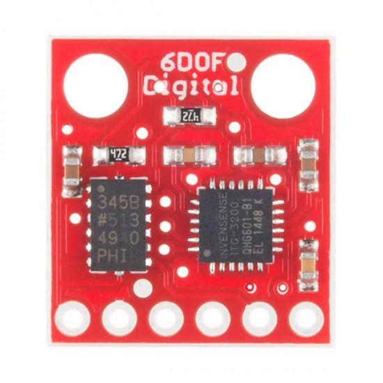 6 Degrees of Freedom ITG-3200/ADXL34 IMU Board