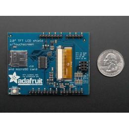 """Ecran résistif tactile 2.8"""" TFT pour Arduino"""