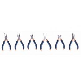 Lot de 6 mini pinces DEXTER