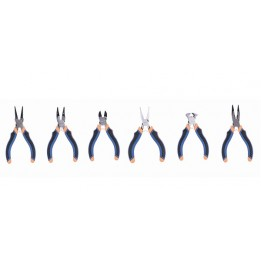 Set of 6 x pliers tools