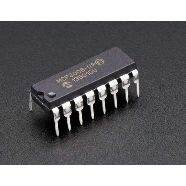 MCP3008 –ADC 10 bit 8 canaux avec interface SPI