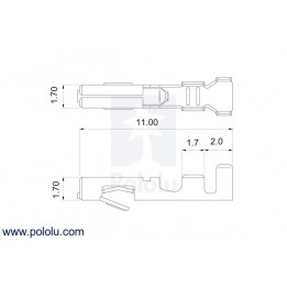 Pack de connecteur JST RCY (femelles)