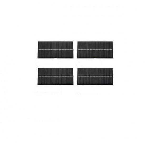 4 panneaux solaires 6V