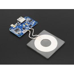 Transmetteur pour chargement sans fil universel Qi