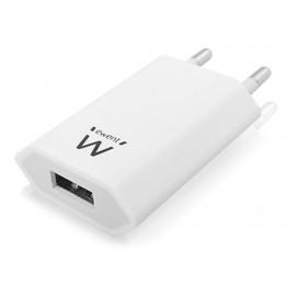 Kompaktes ladegerät für tragbare geräte 100-240 VAC / 5 VDC - 1 A