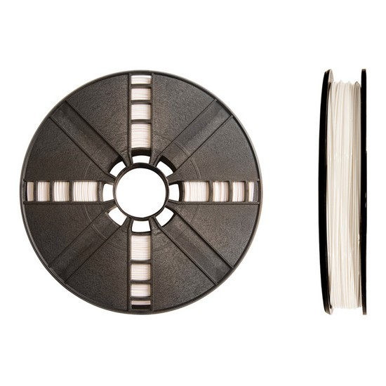 PLA Filament True White diameter 1.75 mm/900g (2 lb) by MakerBot