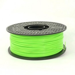 PLA filament Fluorescent Green diameter 1.75 mm/1 kg (2.2 lb) by MakerBot