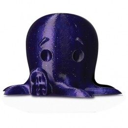 PLA filament Sparkly Dark Blue diameter 1.75 mm/1 kg (2.2 lb) by MakerBot