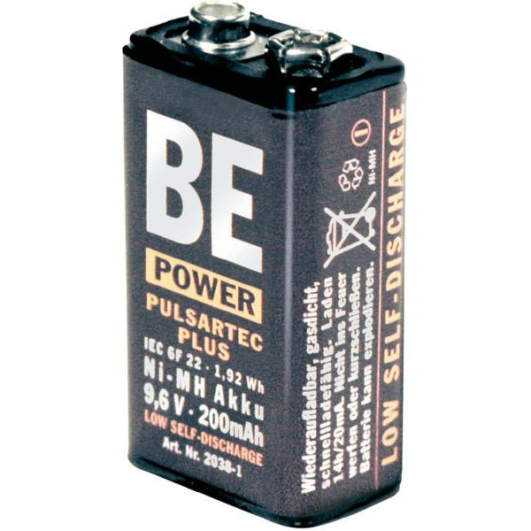 Pile rechargeable 9.6V