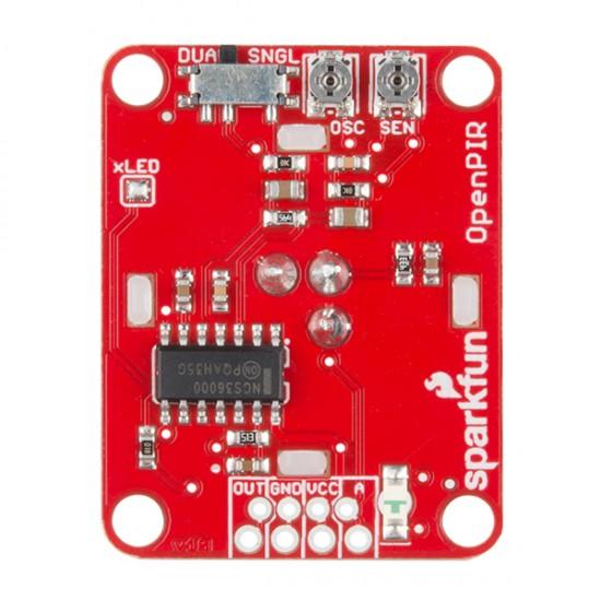 Capteur OpenPIR de Sparkfun