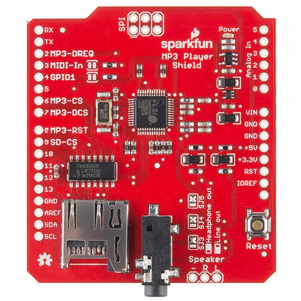 MP3 Player Shield for Arduino