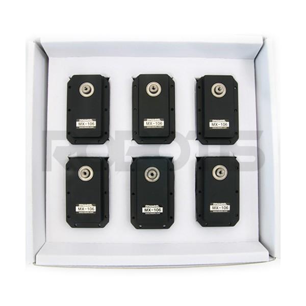 Pack de 6 servos Dynamixel MX-106T