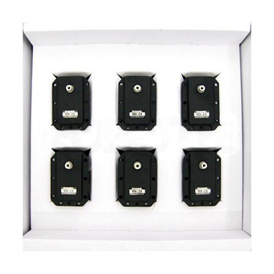 Pack de 6 servos Dynamixel MX-28R
