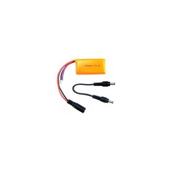 Batterie LiPo compatible Arduino 7.4V 1000mAh