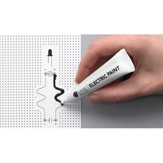 Peinture conductrice Bare Conductive (tube de 10ml)