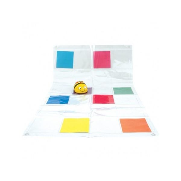 Tapis transparent pour Beebot et Bluebot (avec pochettes)