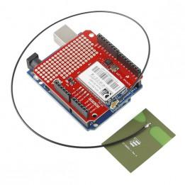 2.4 GHz Antenne zum Aufkleben mit U.FL Steckverbinder