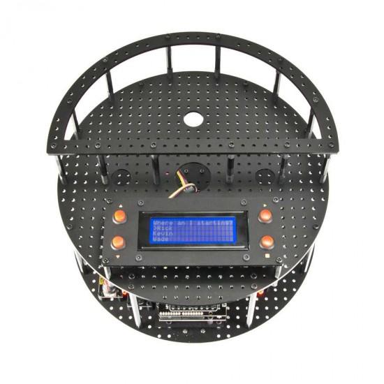 Robot mobile GeekBot compatible Arduino